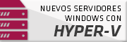 Servidores virtuales Hyper-V con Windows